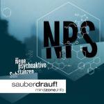 Neue-Psychoaktive-Substanzen-(WebVersion-Titel) Molekül-Strukturen mit Mindzonelogo