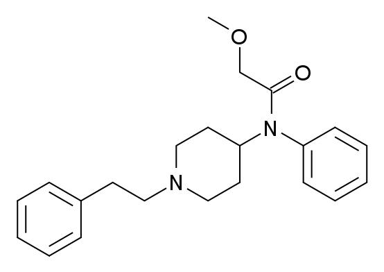 Methoxyacetylfentanyl_structure