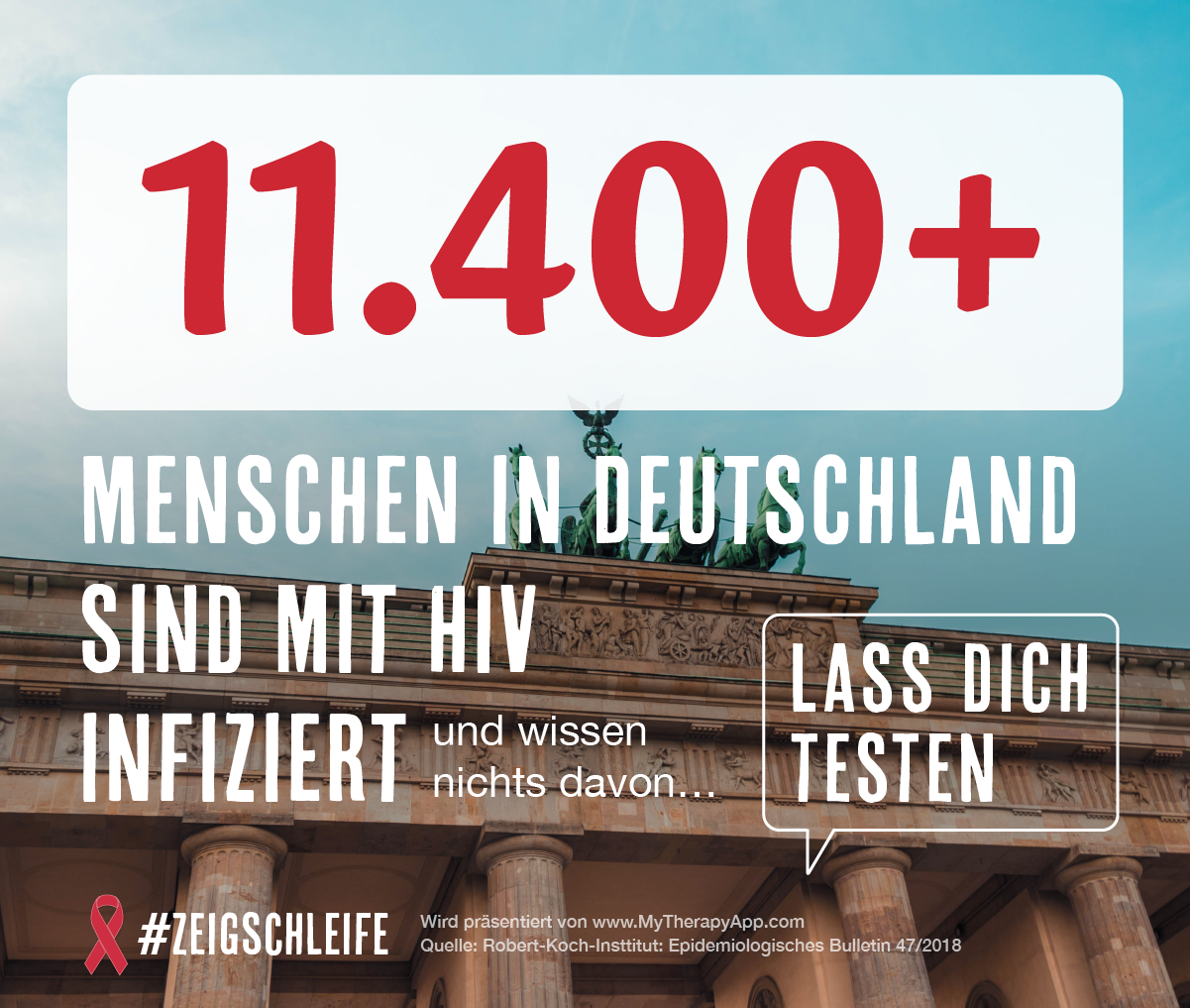 Grafik zum Welt-Aids-Tag