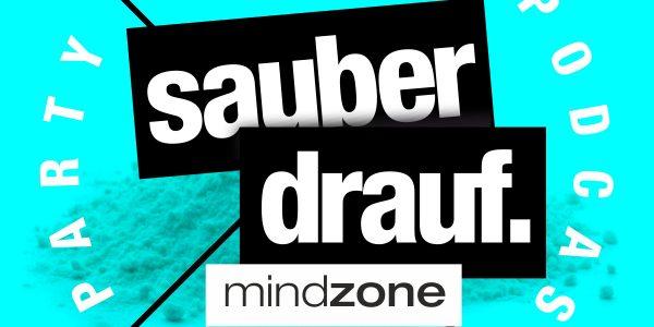 sauber drauf steht auf einem schwarzen X geschrieben das ein pulver durchstreicht... darunter eine pille - - der party-drogen podcast von mindzone